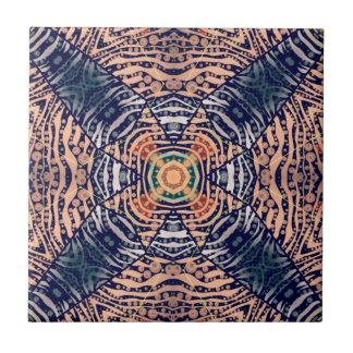 Rustikaler Zebra abstrakt Keramikfliese