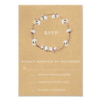 Rustikales Hochzeit UAWG 8,9 X 12,7 Cm Einladungskarte