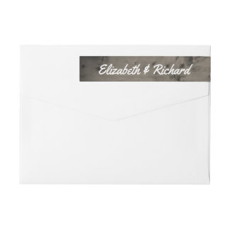 Rustikales Hochzeits-Monogramm verwittertes