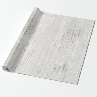 Rustikales rehabilitiertes Holz Geschenkpapier