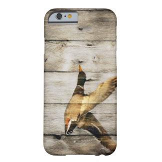 rustikales Vintages barnwood Land duckt Jäger Barely There iPhone 6 Hülle