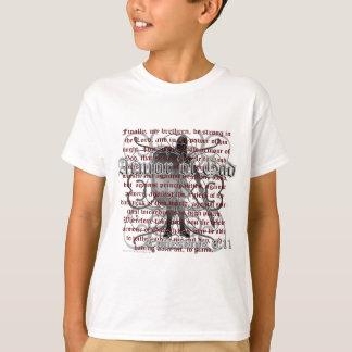 Rüstung des Gott-Soldaten T-Shirt