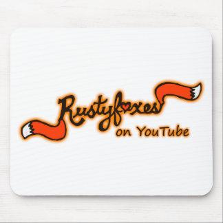 Rustyfoxes auf Youtube-Farbe kundengerechtes Mousepad