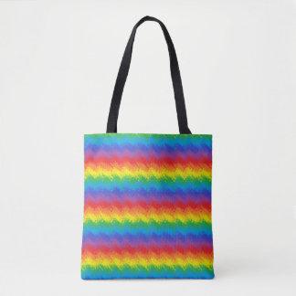 Rütteln des Regenbogens Tasche