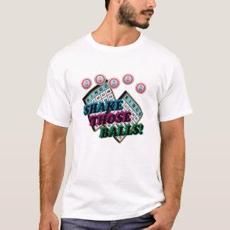 Rütteln Sie jene Bälle mit Effekt der Neigungs-3D T-Shirt