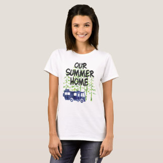 Rv-Camping unser Sommer-ZuhauseWatercolor T-Shirt