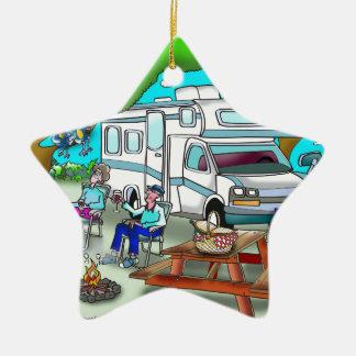 Rv-Cartoon 9475 Keramik Stern-Ornament
