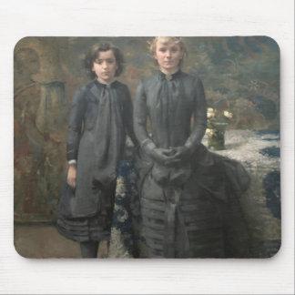 Rysselberghe-Soeurs de Theo de peintre Schlobach Tapis De Souris