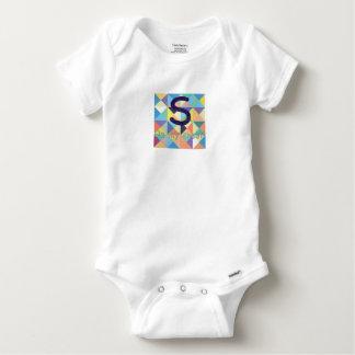 S auf meiner Kasten-Baumwolle Onesy Baby Strampler