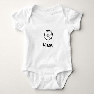 S-Ball Liam (der Name des Babys) ' Baby Strampler