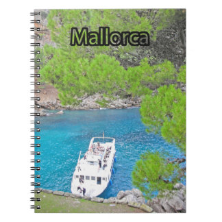 sa calobra Mallorca Notizbuch von Spirale Notizblock