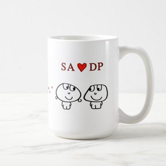 """""""Sa-Herz DP """" Tasse"""