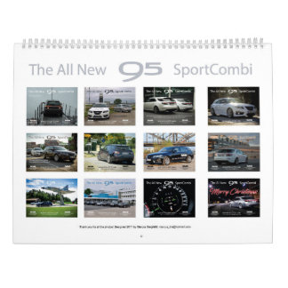 Saab 9-5 NG Sportcombi Calendar 2018 Kalender