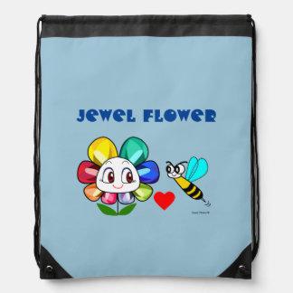 Sac à dos de fleur de bijou