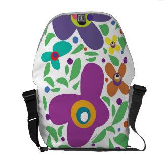 sac à dos frais superbe de flower power besace