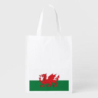 Sac à provisions de drapeau de Gallois Sacs D'épicerie Réutilisables