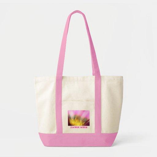 Sac à provisions de flower power