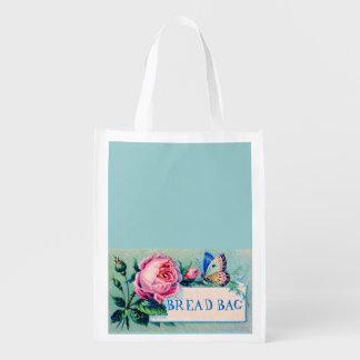 sac à provisions de pain, sac à provisions de boul sacs d'épicerie réutilisables