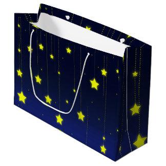 Sac de cadeau de nuit étoilée