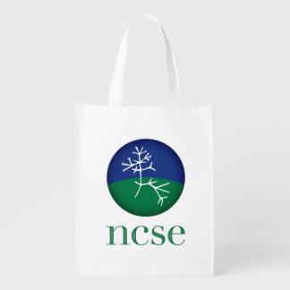 Sac d'épicerie réutilisable de NCSE