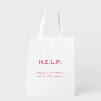 Sac fourre-tout réutilisable sacs d'épicerie