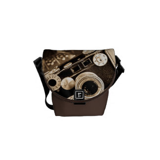 Sac messenger vintage à appareil-photo sacoche