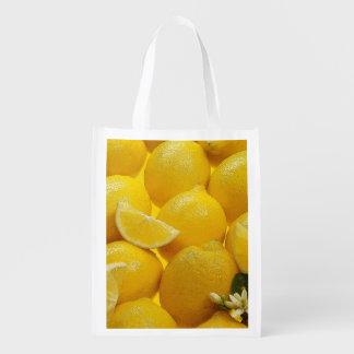 Sac réutilisable de citrons