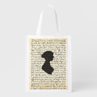 Sac réutilisable de Jane Austen de fierté et de Cabas Épicerie