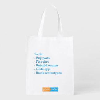 Sac réutilisable pour les fabricants sac réutilisable d'épcierie
