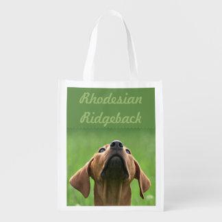 Sac Réutilisable Rhodesian Ridgeback trousse