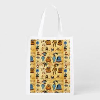 Sac Réutilisable Sac aztèque de Reuseable d'hommage