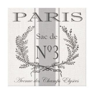 sac vintage moderne de grain de Paris de Français Toiles