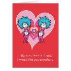 Sache 2 Dr.-Seuss Valentine | Sache-1 Karte