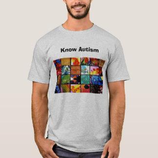 Sachez l'autisme t-shirt