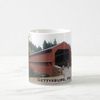 Sachs überdachte Brücke nahe Gettysburg PA Kaffeetasse