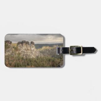 Sächsische Schweiz Gepäckanhänger