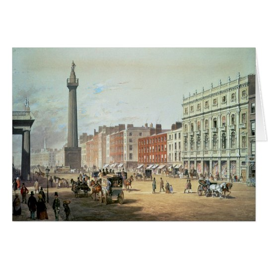 Sackville Straße, Dublin Grußkarte