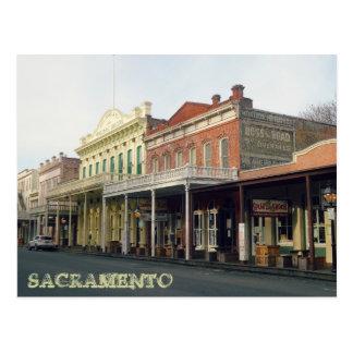 Sacrmento Reise-Foto Postkarte