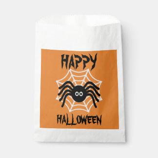 Sacs heureux de faveur d'araignée de Halloween