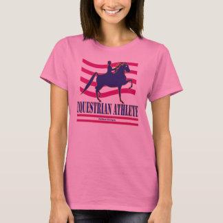 Saddlebred Reiterathleten-langer Hülsen-T - Shirt