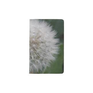 Säen der Löwenzahn-Blumen-Notizbuch-Abdeckung Moleskine Taschennotizbuch