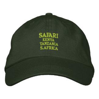 Safari: Kenia, Tansania, S.Africa Bestickte Baseballkappe