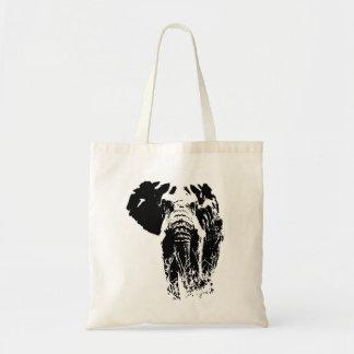 Safari-Stier-Elefant-Taschentasche Tragetasche