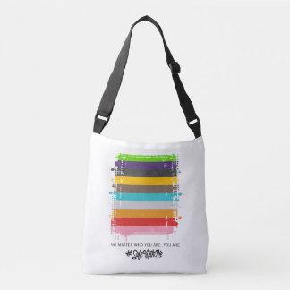 Safe mit mir Flaggen-Riemen-Tasche Tragetaschen Mit Langen Trägern