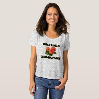 Saftig wie ein Georgia-Pfirsich-T - Shirt (Frauen)