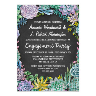 Saftige Tafel-Verlobungs-Party Einladungen