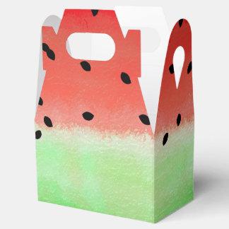 Saftige Wassermelone Geschenkschachtel