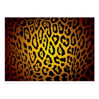 Saftiges Jaguar Postkarte