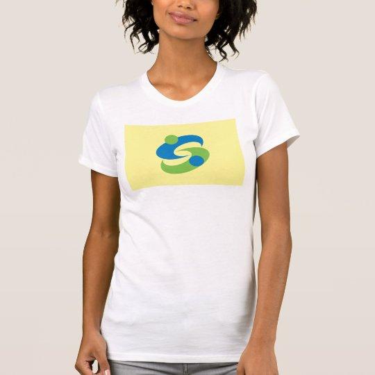 Sagastadtflagge Sagapräfektur-Japan-Symbol T-Shirt