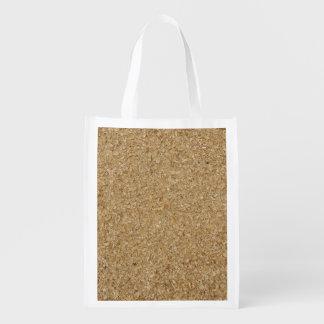 Sägemehl-wiederverwendbare Tasche Wiederverwendbare Einkaufstasche